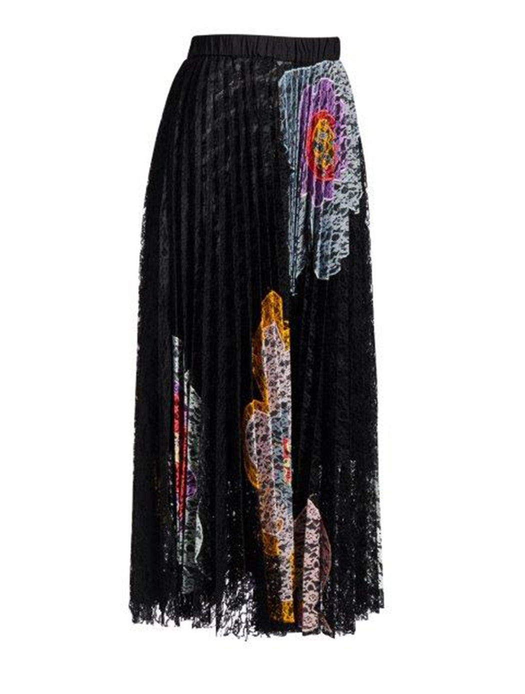New Revolution Lace Pleated Skirt