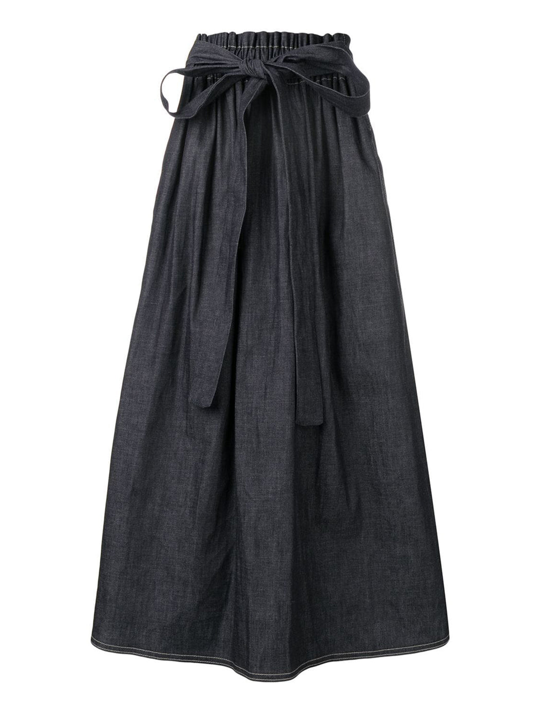 Sash Skirt with Knotted Belt