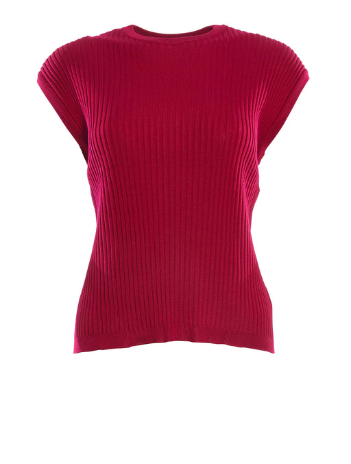 Knitted Silk Tank Top