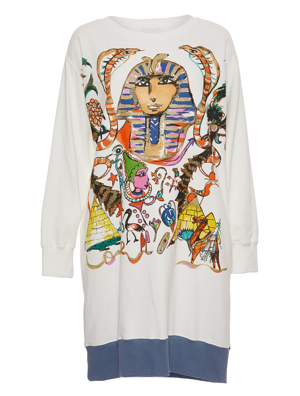 Egyptian Print Dress