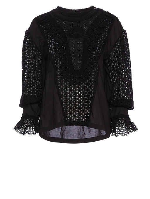 Broderie Anglais Blouse