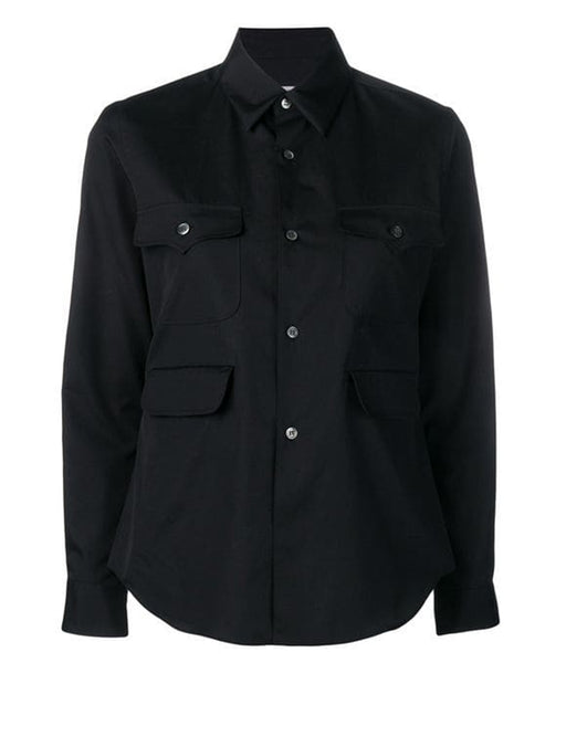 Comme Des Garçons Button Up Pocket Shirt