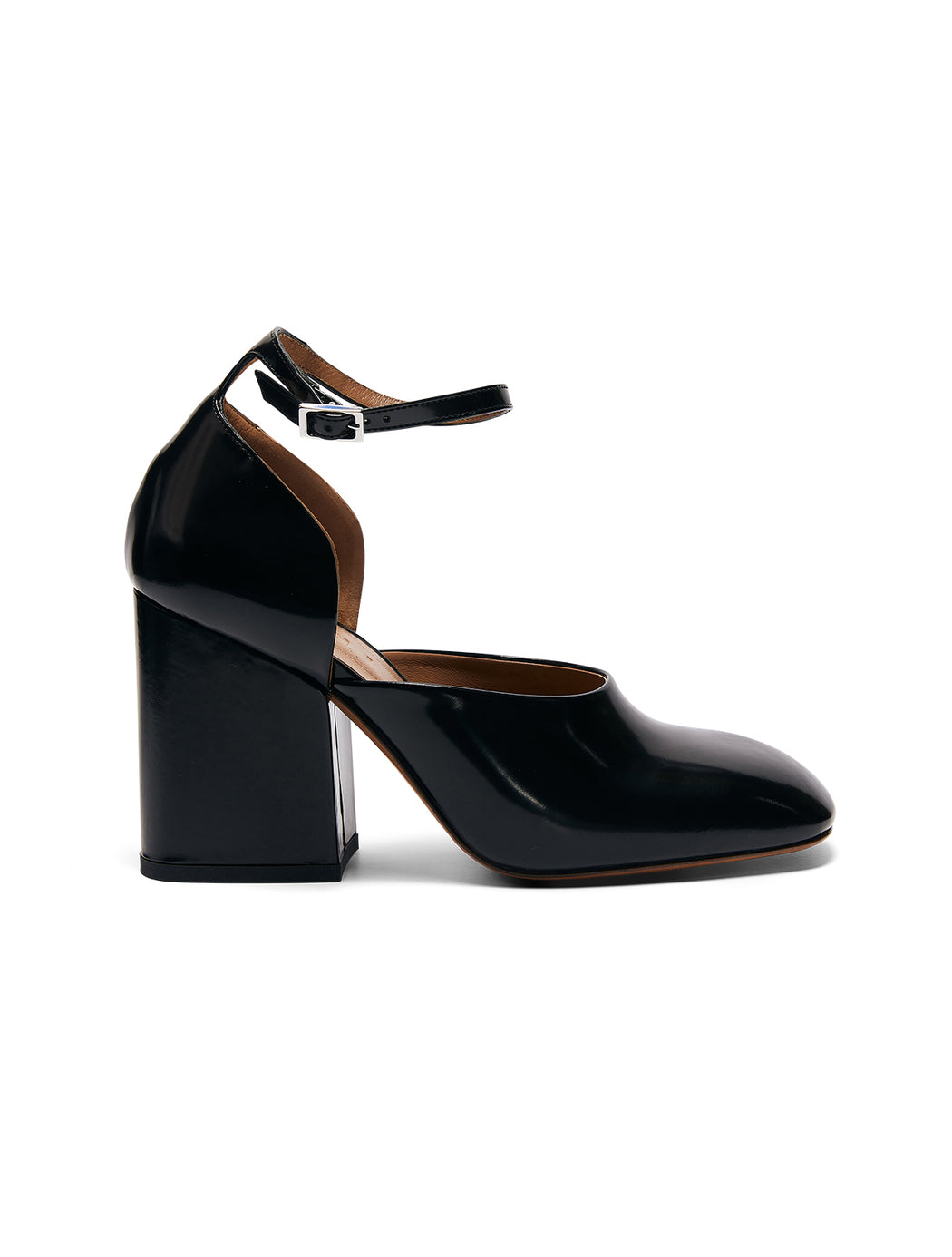 Mary Jane Block Heel Pump