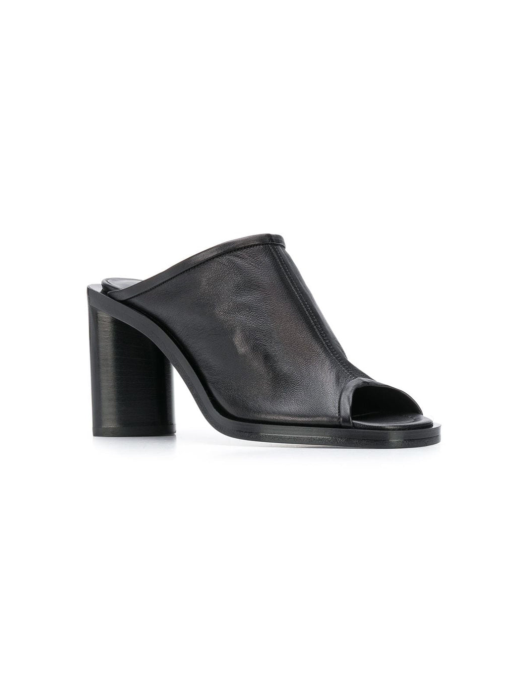 Bernis Leather Mule Heel