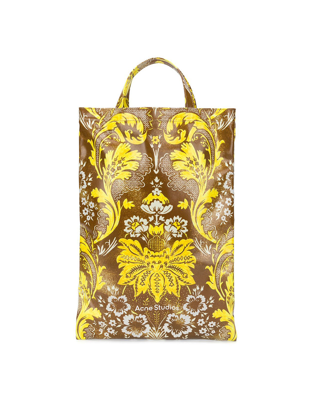 Floral Print Mini Tote Bag