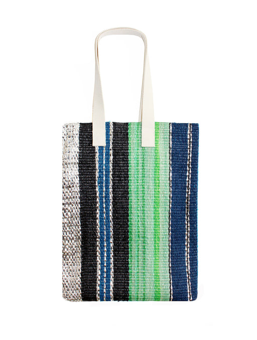 Medium Vertical Stripe Tote