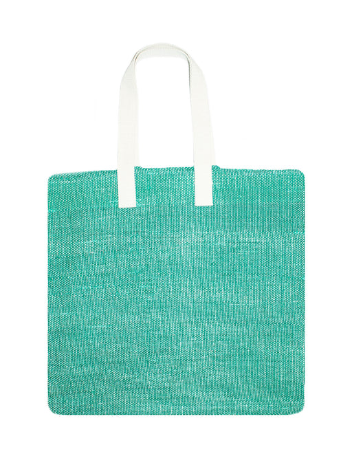 Simple Medium Green Tote