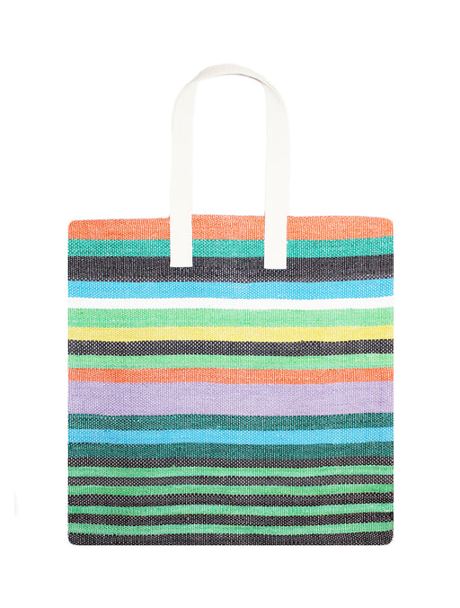 Medium Horizontal Stripe Tote