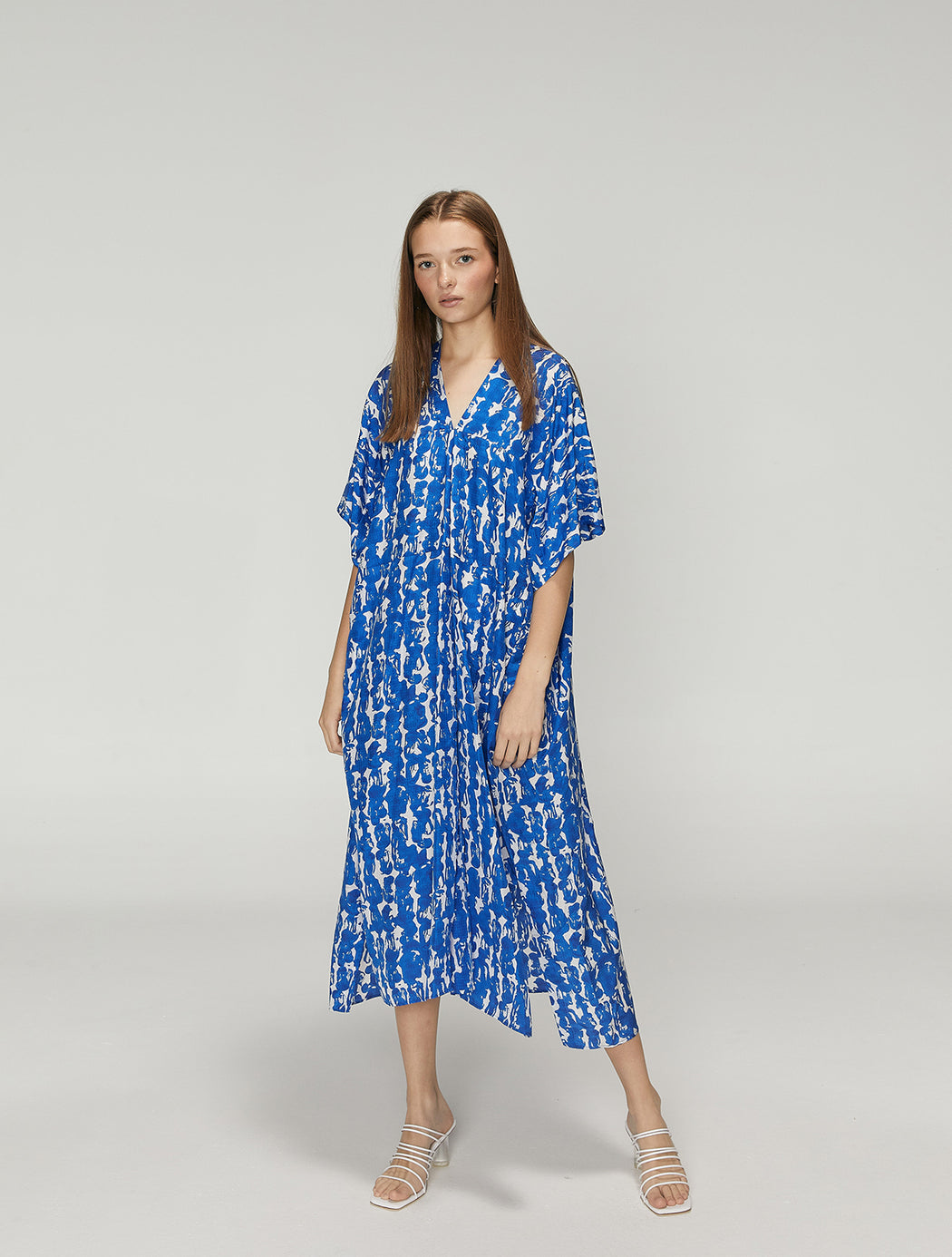 Damim Oversized Short Sleeve Dress