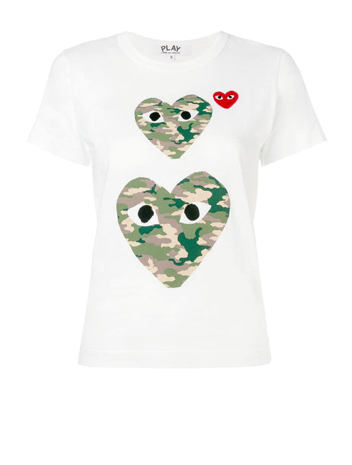 PLAY Camo Heart T-shirt
