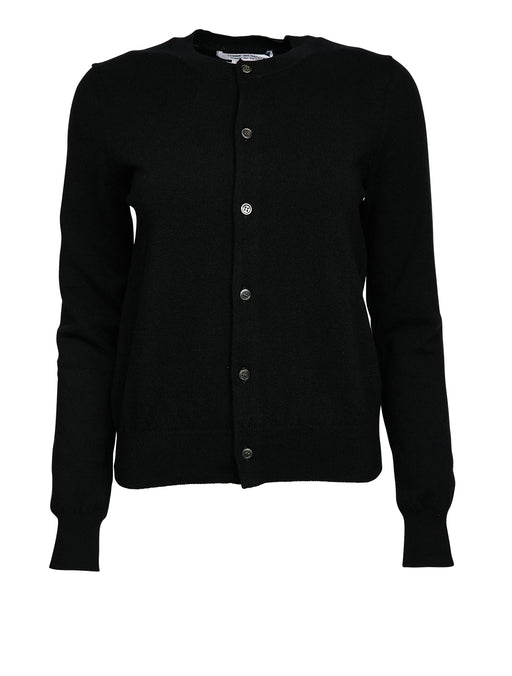 Button Up Wool Cardigan