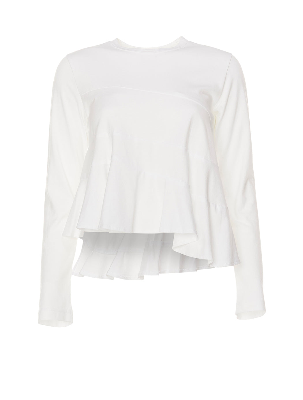 Tiered Frill Long Sleeve T-Shirt