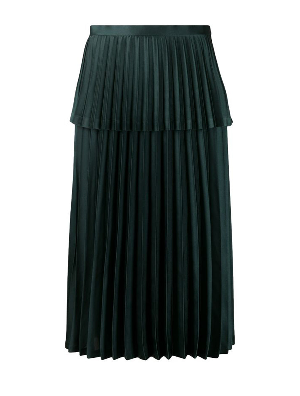 Layered Pleat Skirt
