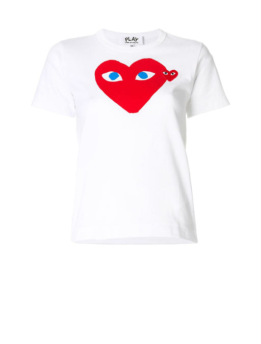 Blue Eyed Red Heart T-Shirt