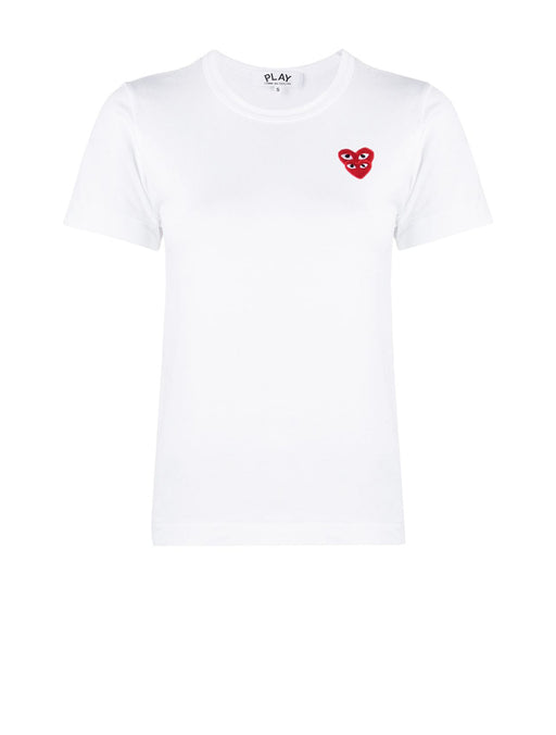 Double Eye Red Heart T-Shirt