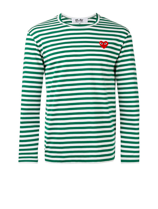 Men's Striped Long Sleeve T-Shirt