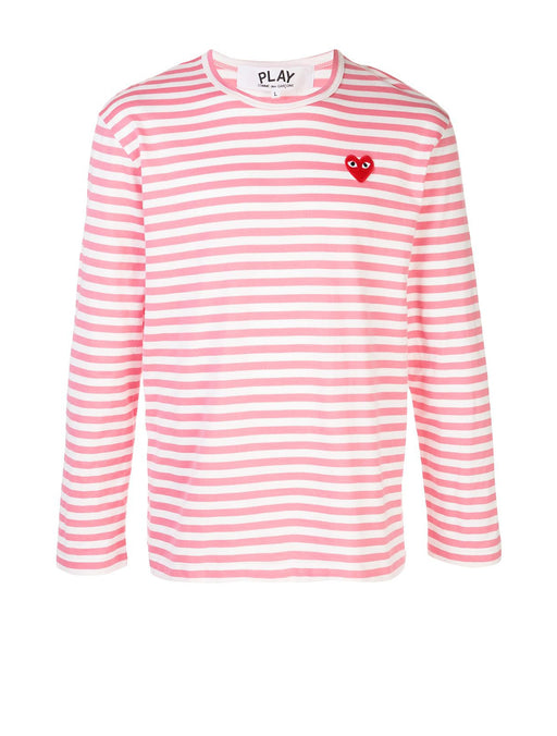 Men's Bright Striped Long Sleeve T-Shirt