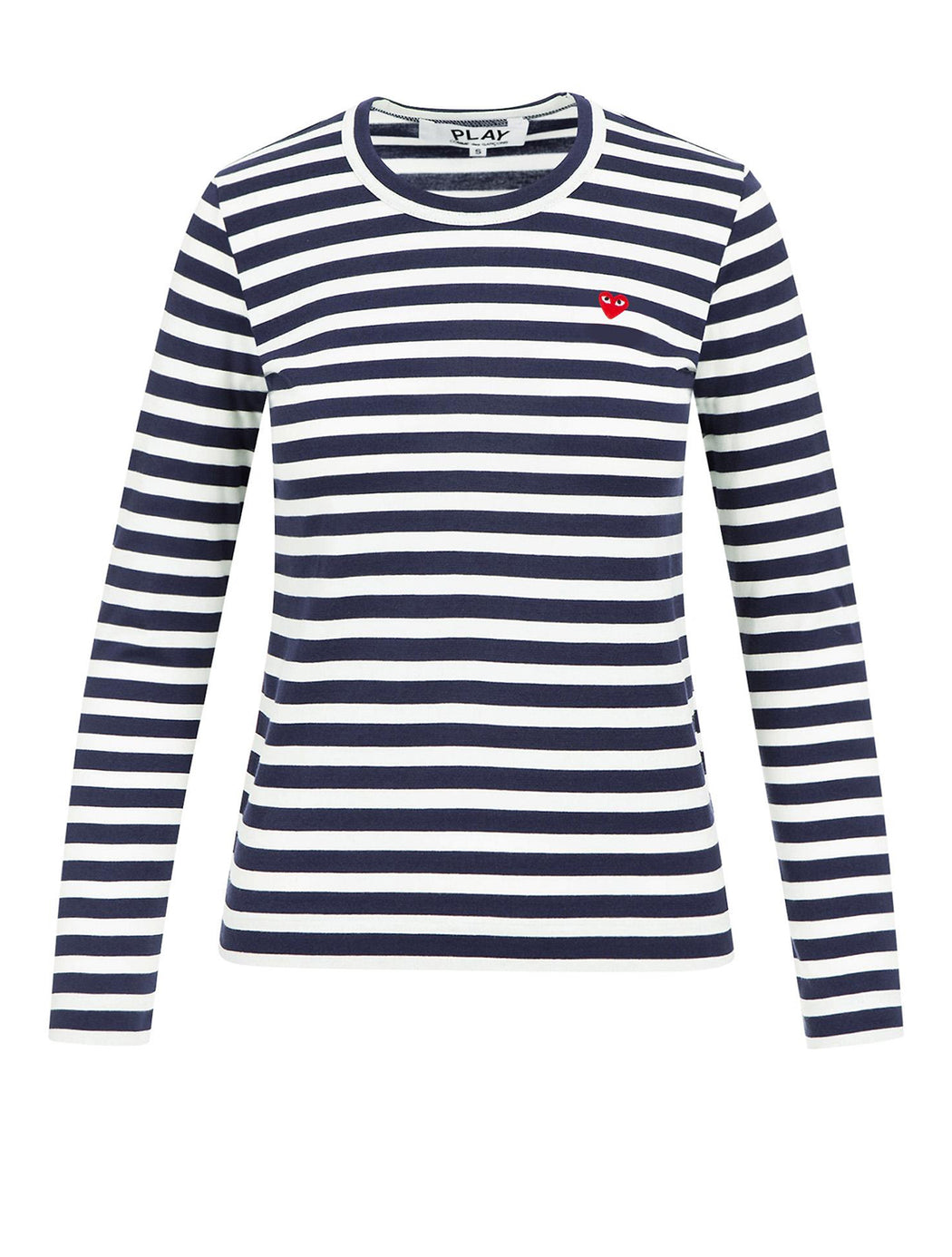 Little Heart Striped Long Sleeve T-Shirt