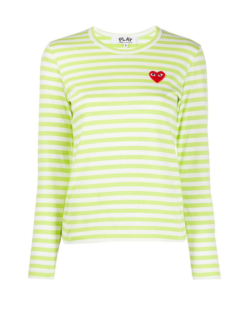 Bright Striped Long Sleeve T-Shirt