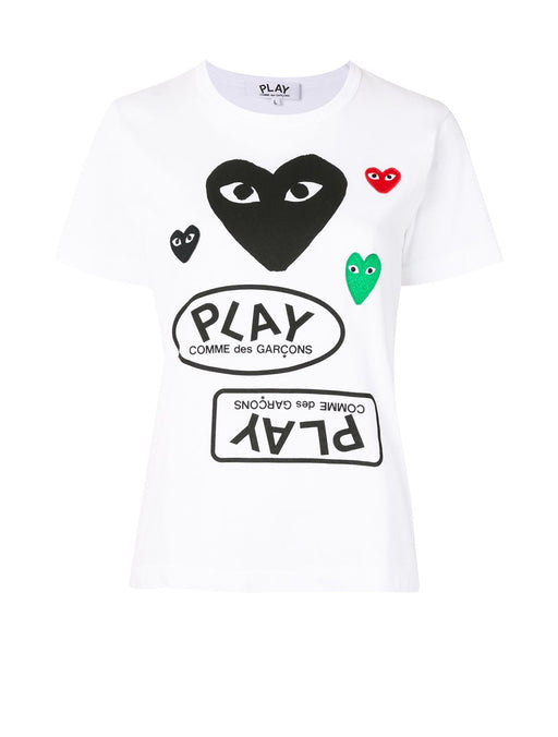 Logo T-Shirt With Black Heart