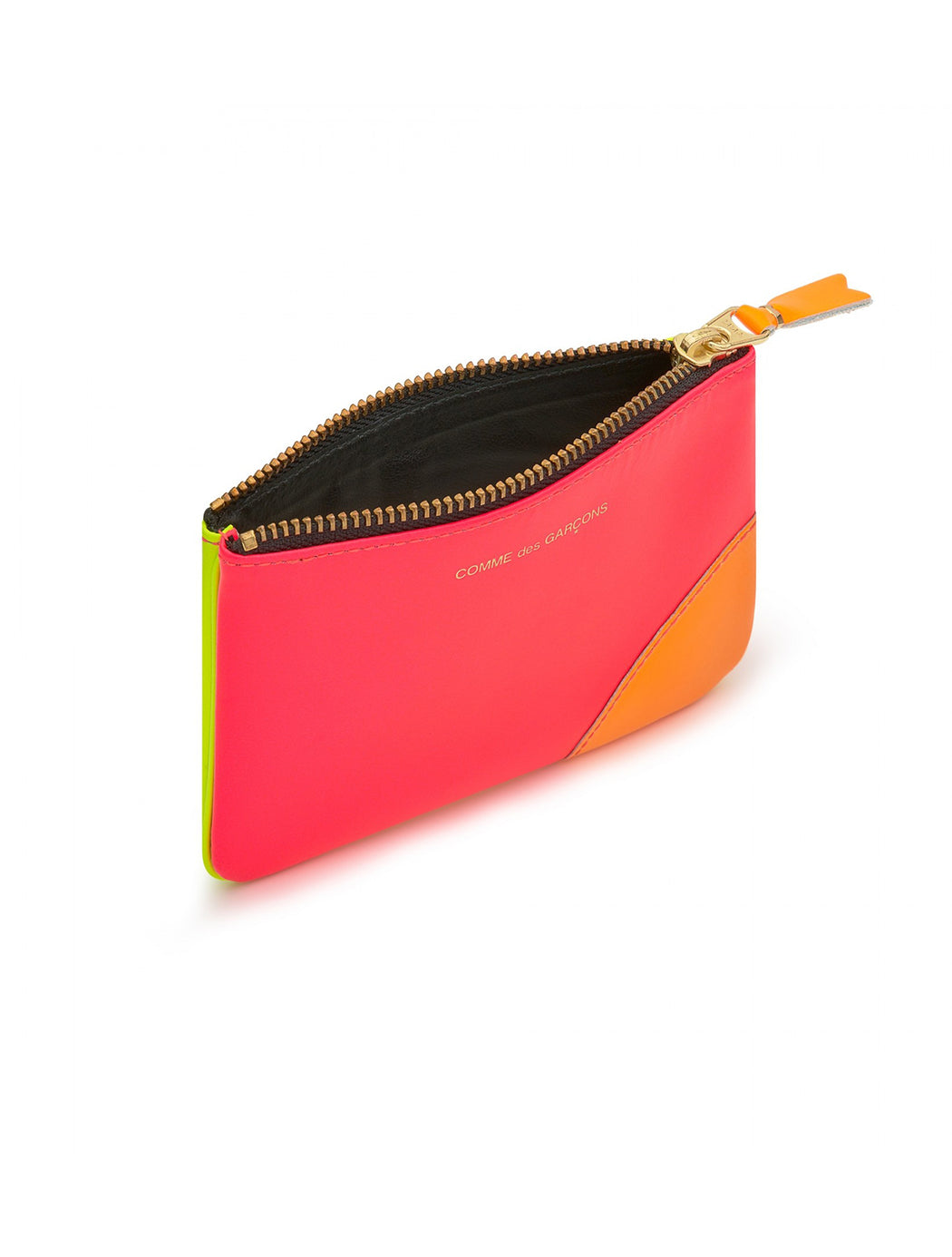 Small Zip Pouch / Super Fluro