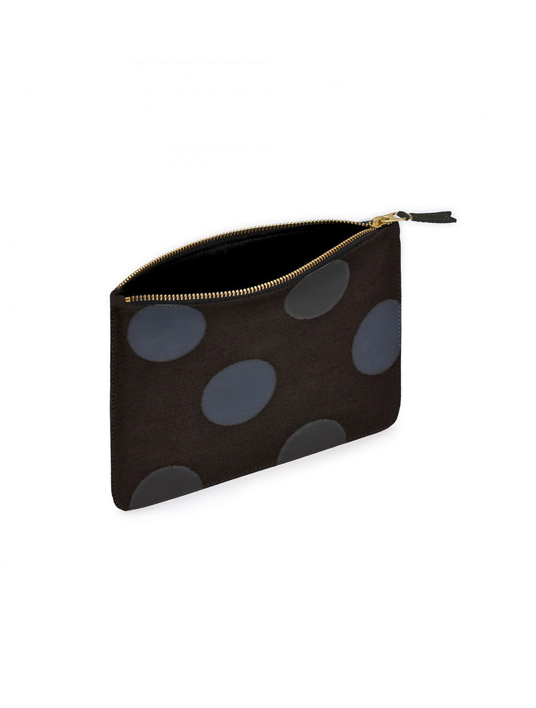 Small Zip Pouch / Rubber Dot