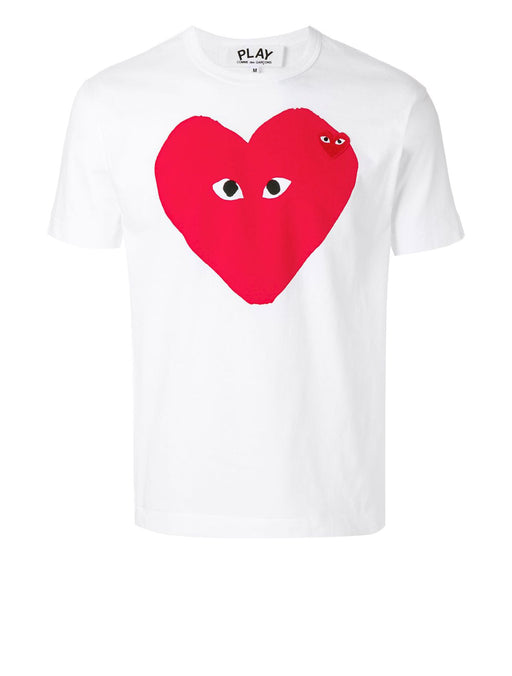PLAY Men's Big Red Heart T-shirt
