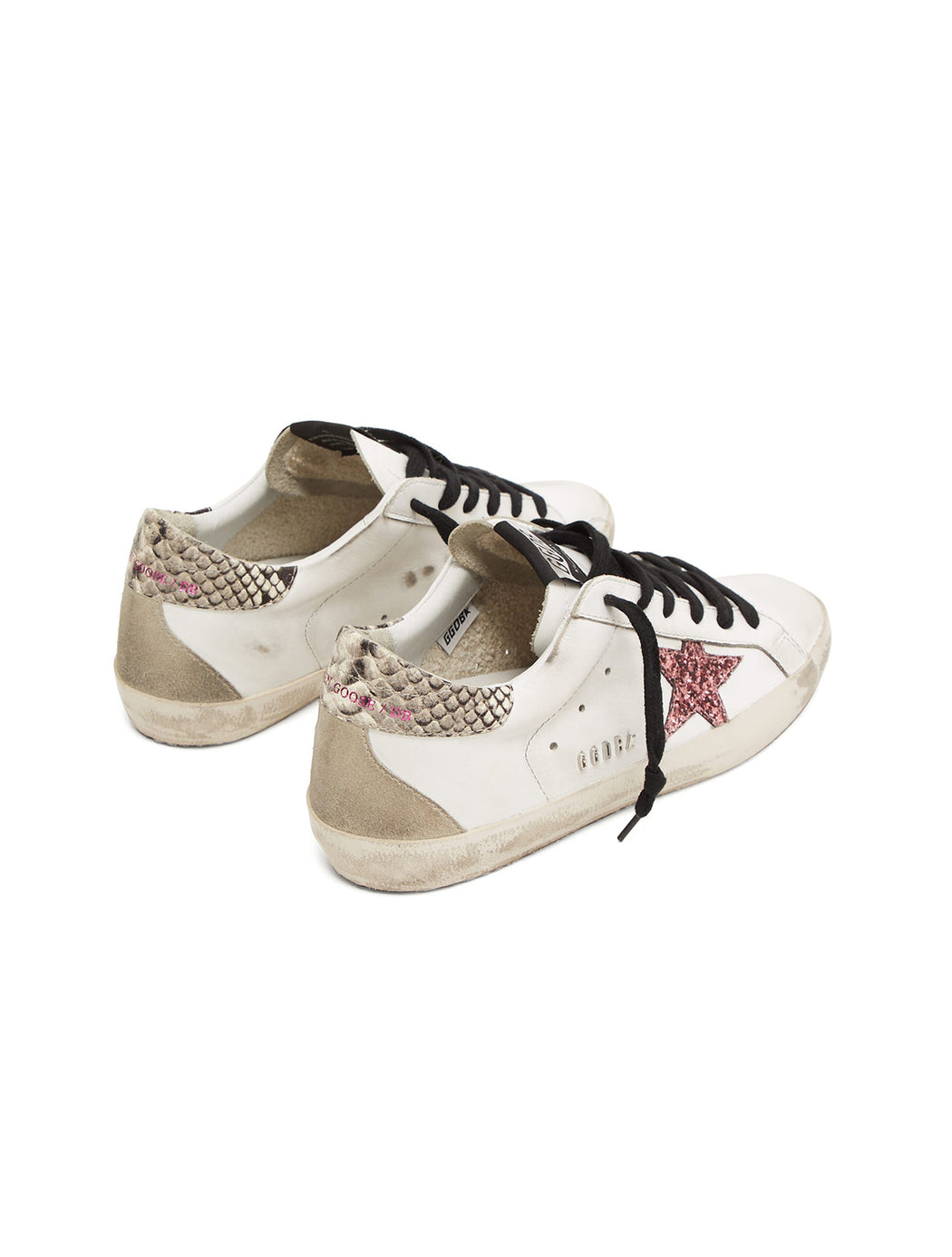 Snake Embossed Detail Superstar