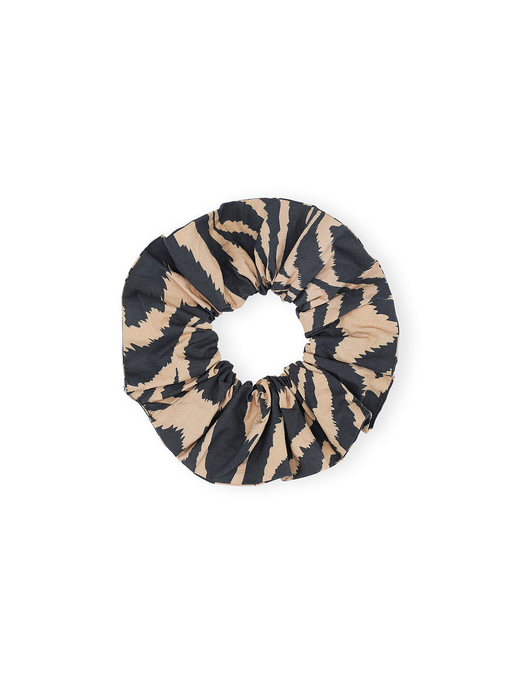 Printed Cotton Poplin Scrunchie
