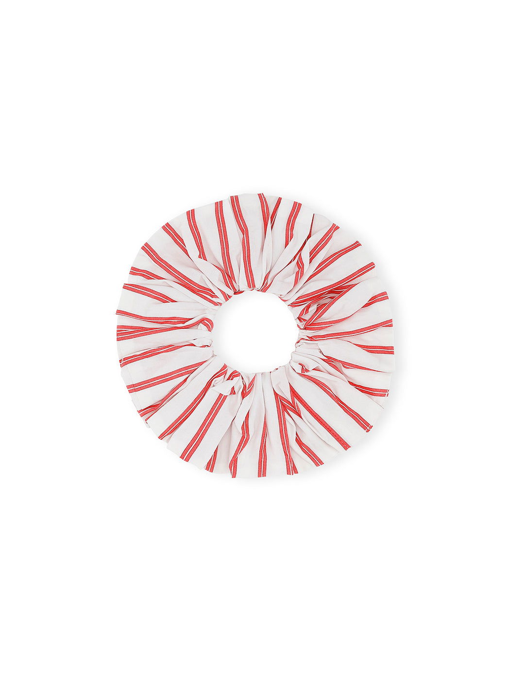 Stripe Cotton Scrunchie