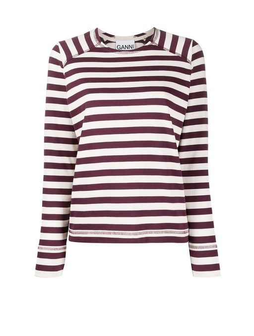 Striped Cotton Jersey