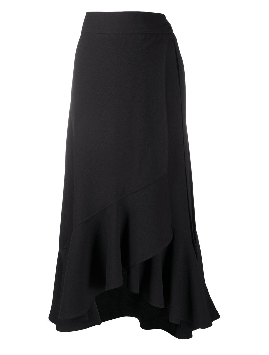 Heavy Crepe Wrap Skirt