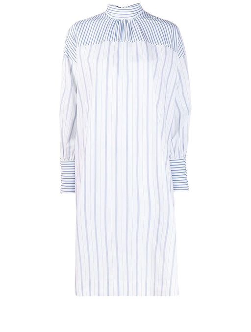 Stripe Cotton Oversized Dress