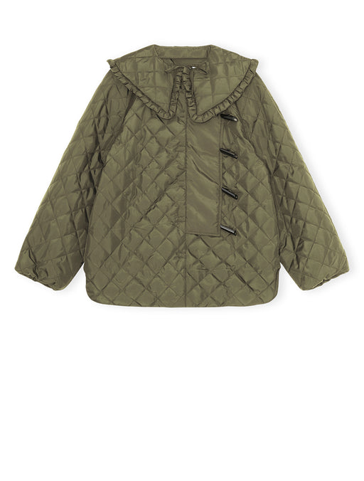 Recycled Ripstop Quilted Coat