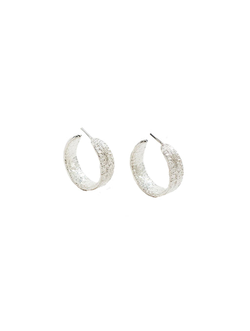 Anchovy Hoop Earrings