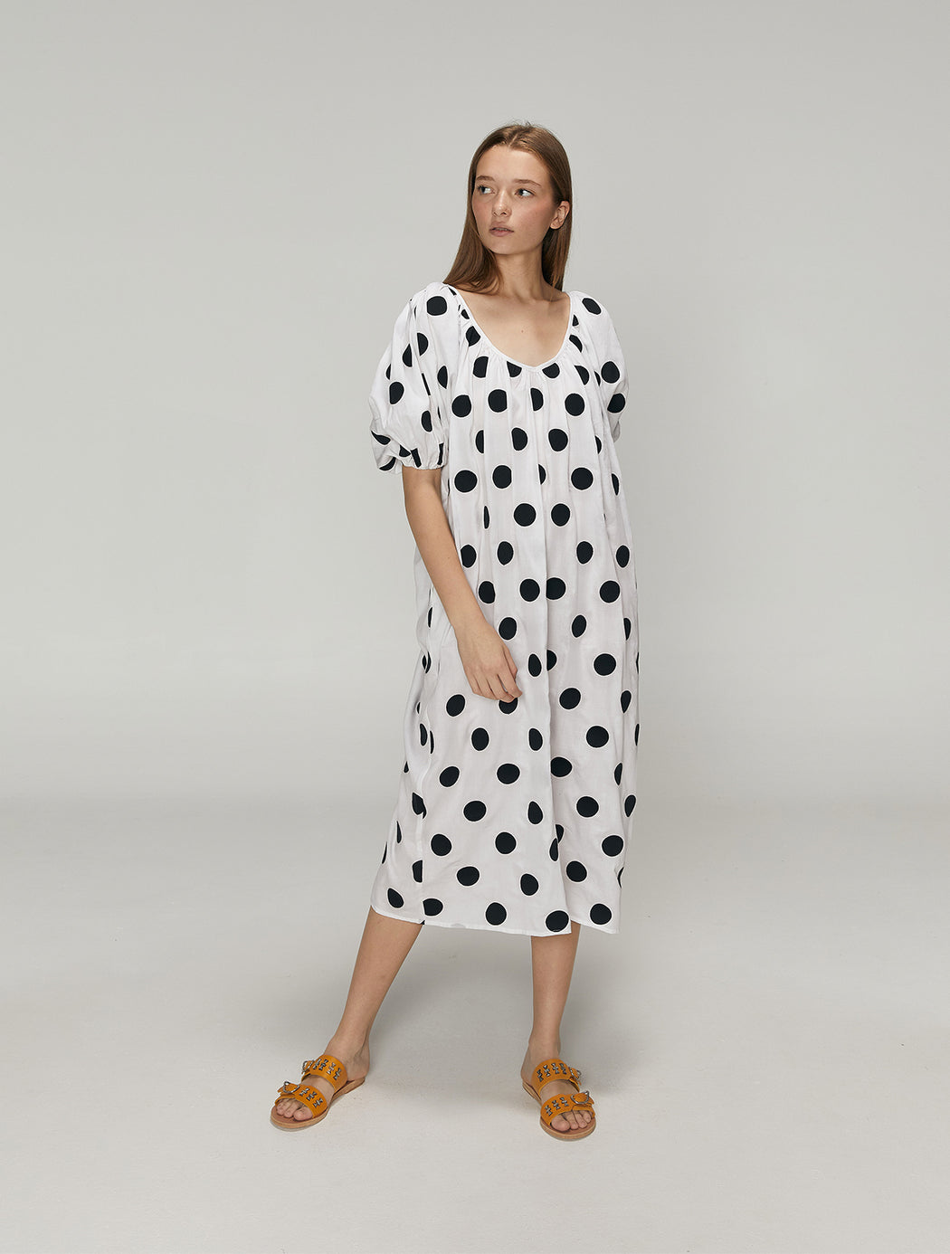Romina Dot Dress