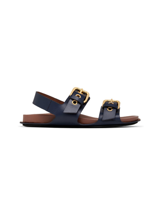 Two-Band Buckle Fussbett Sandal