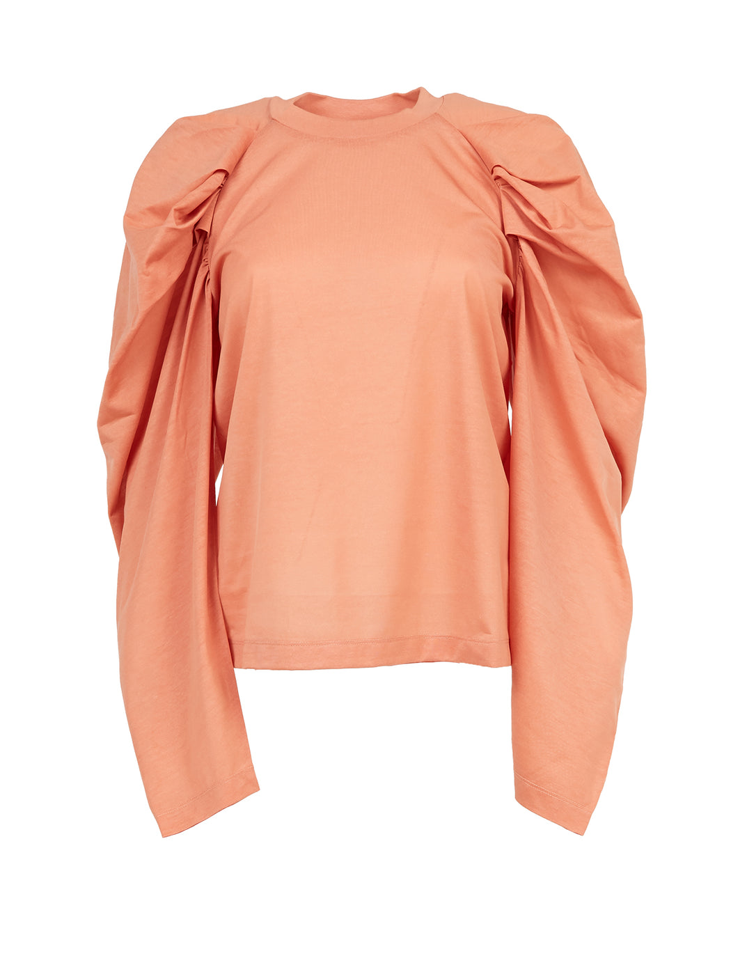 Long Puff Sleeve Paper T-Shirt