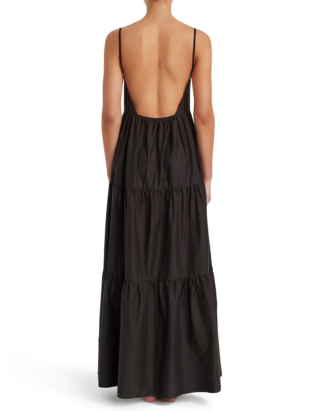 Tiered Low Back Sundress