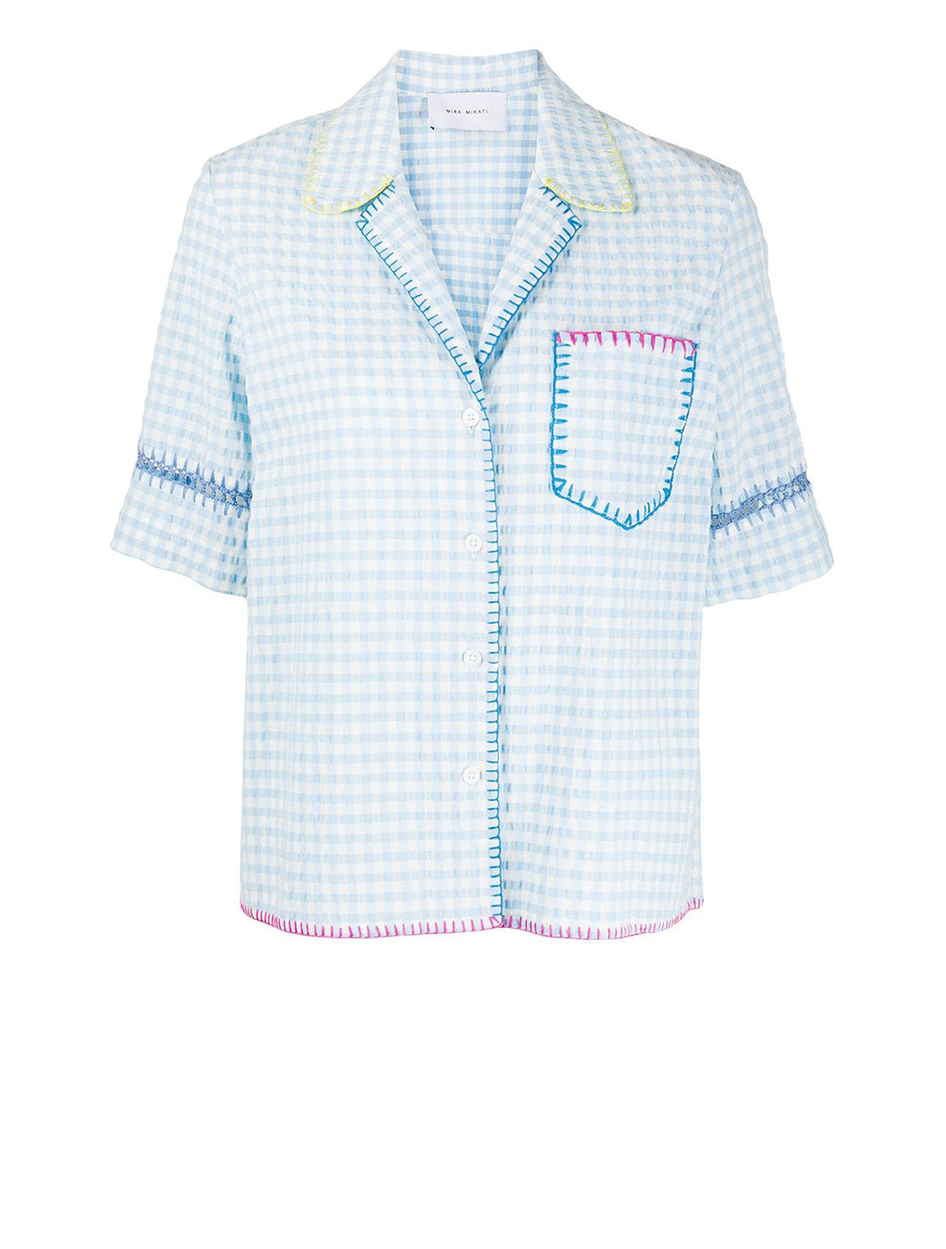 Gingham Button Shirt
