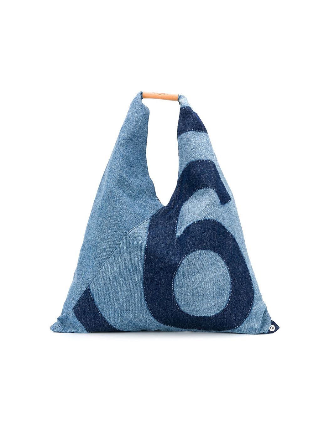 Denim Logo Handbag