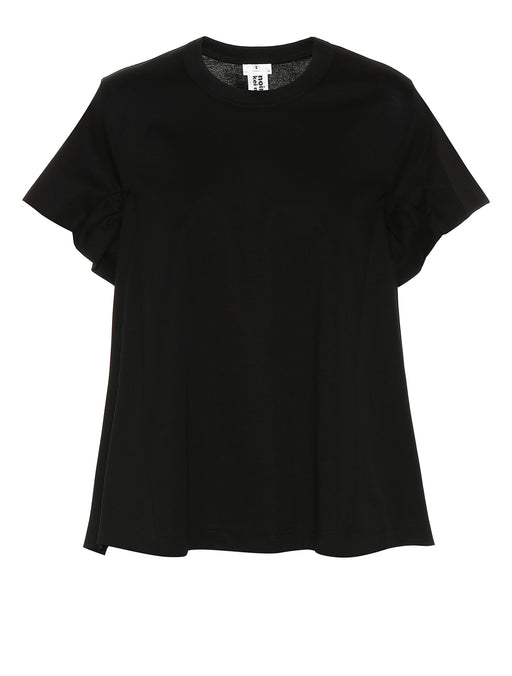 Gathered Sleeve T-Shirt
