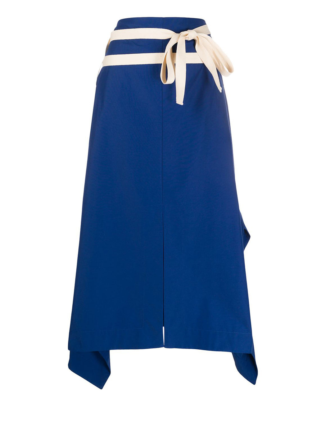 High Waisted Asymmetric Skirt