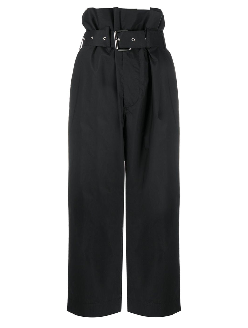 High Waisted Cropped Trouser