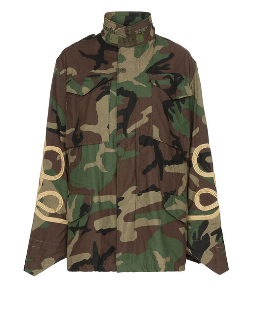 M65 Camo Jacket with Braids