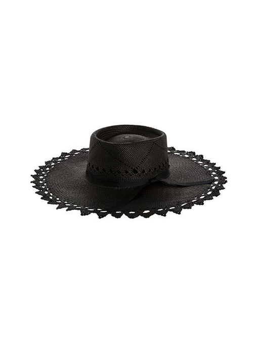 Sarah J Curtis Scalloped Brim