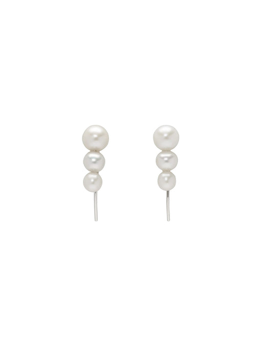 Three Pearl Earstud