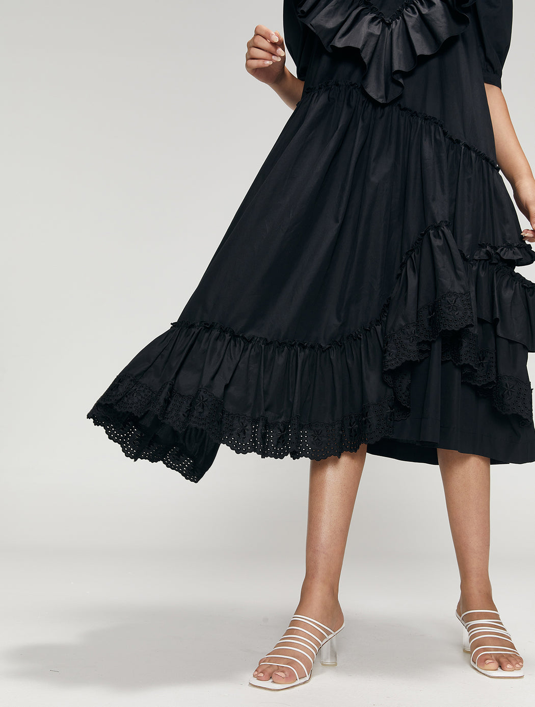 Frill Double Bite Dress
