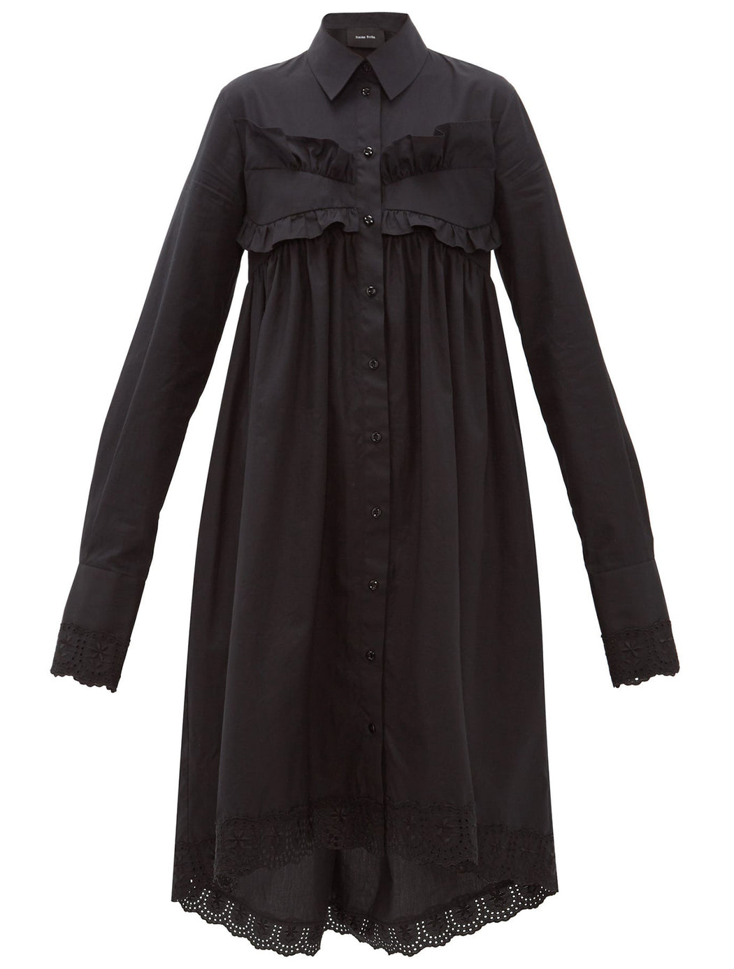 Long Frock Shirt Dress