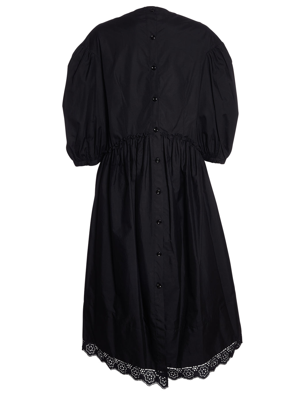 Broderie Anglais Dropped Sleeve Dress